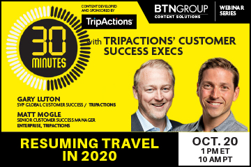 alt='30 Minutes With … TripActions' Customer Success Execs'  Title='30 Minutes With … TripActions' Customer Success Execs'