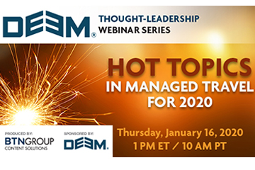 alt='Hot Topics in Managed Travel for 2020'  Title='Hot Topics in Managed Travel for 2020'
