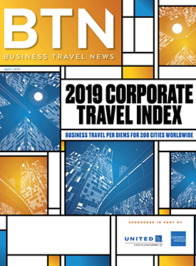 BTN's 2019 Corporate Travel Index: Business Travel News
