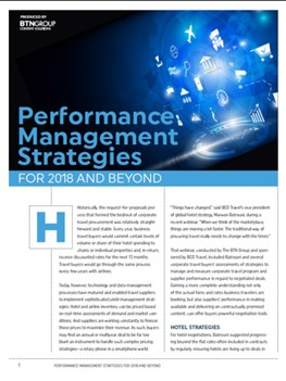Performance Management Strategies for 2018 and Beyond