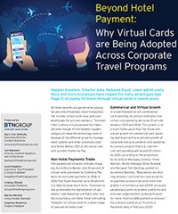 Beyond Hotel Payment: Why Virtual Cards are Being Adopted Across Corporate Travel Programs