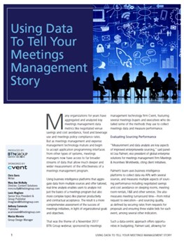 Using Data to Tell Your Meetings Management Story