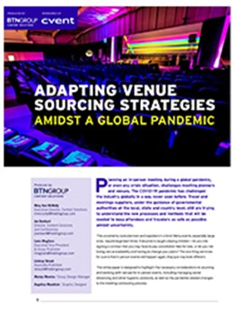 Adapting Venue Sourcing Strategies Amidst A Global Pandemic
