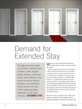 Demand for Extended Stay