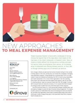 New Approaches to Meal Expense Management