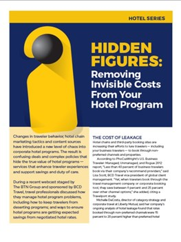 Hidden Figures: Removing Invisible Costs From Your Hotel Program