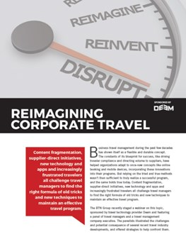 Reimagining Corporate Travel