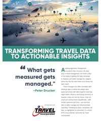 Transforming Travel Data to Actionable Insights