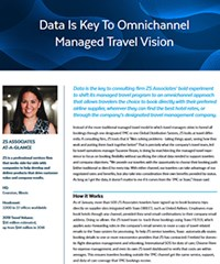 Data Is Key To Omnichannel Managed Travel Vision